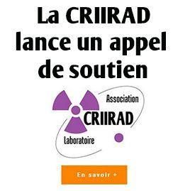 Faites un don pour permettre à la La CRIIRAD de poursuivre ses actions !