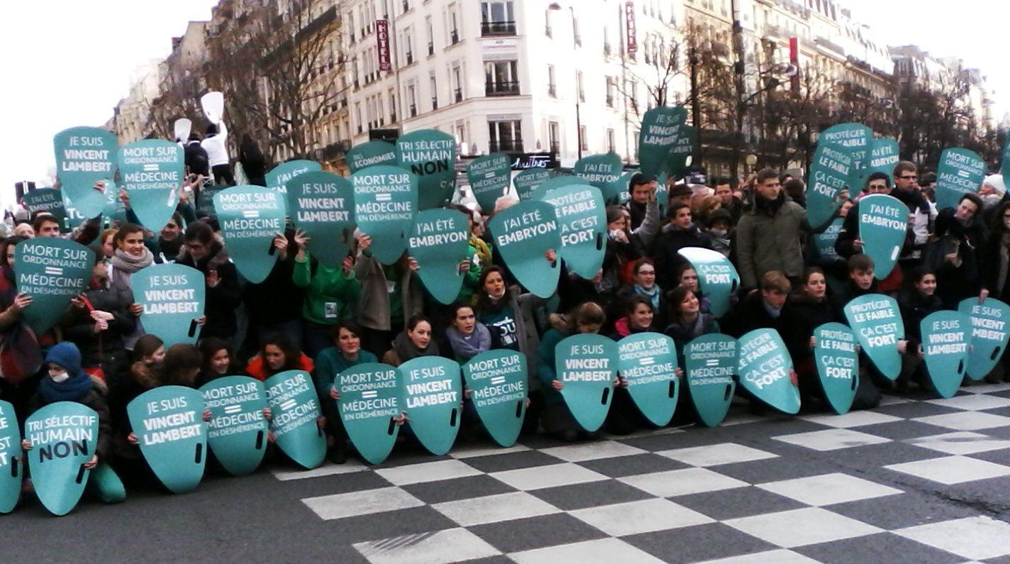 Les Marcheurs pour la vie. (c) Denis Sureau