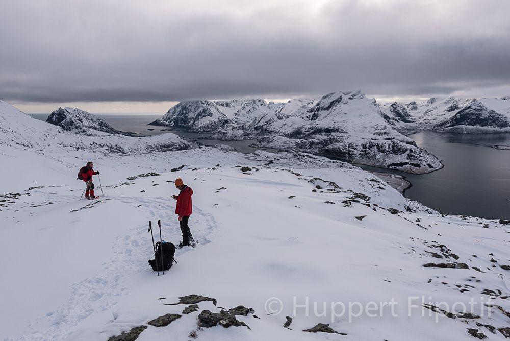 Norvège Lofoten - Trek raquettes