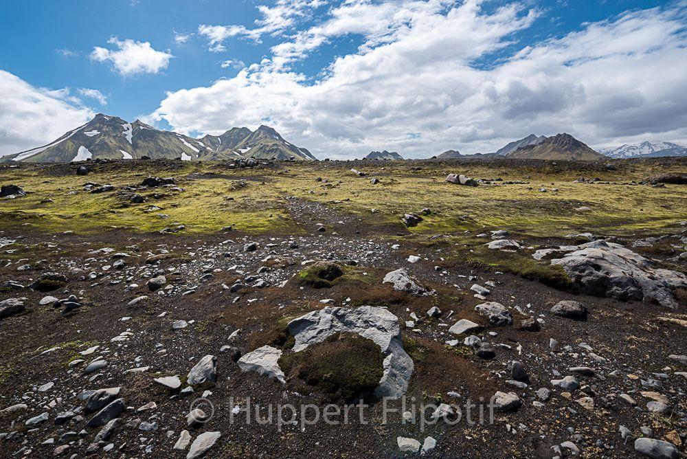 Islande : Album photos trek de laugavegur
