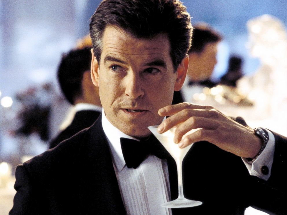 Pierce Brosnan est James Bond