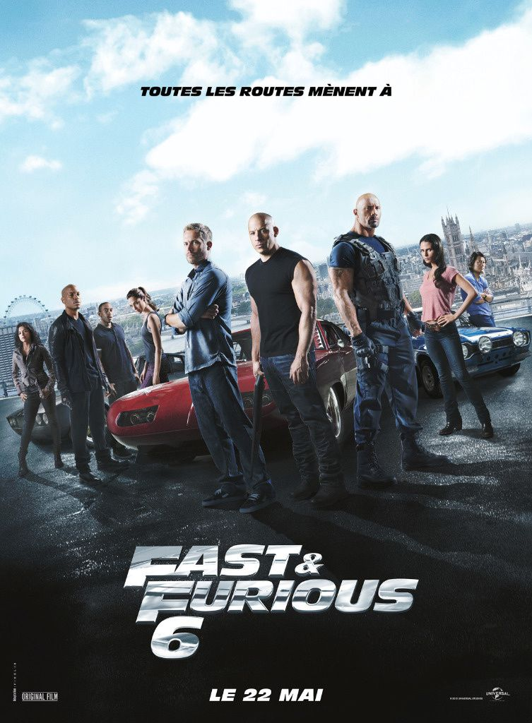 FAST AND FURIOUS 6 - la critique