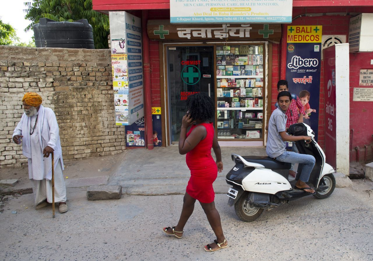 Africans in India face constant battles with racism.