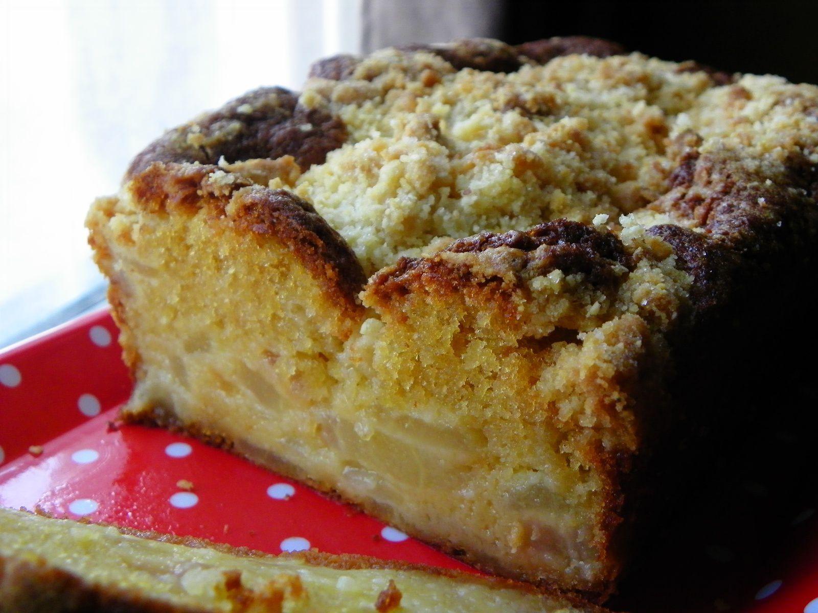 Cake crouti-fondant aux poires