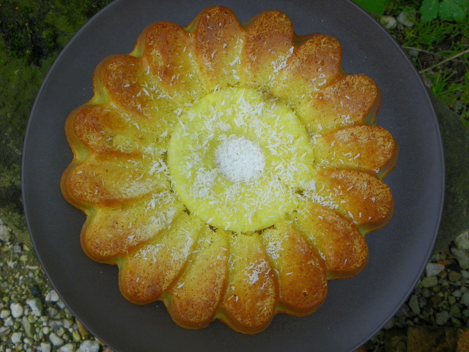 Crousti-moelleux à l'ananas
