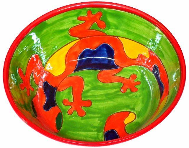 céramique peinte à la main