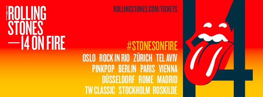 Fourteen on Fire ! The Rolling Stones in Europe !