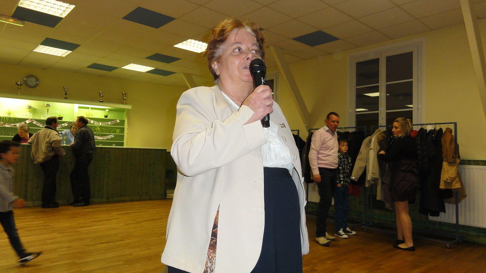 Dîner-dansant à Nogent sur Loir , le 05 Avril 2014