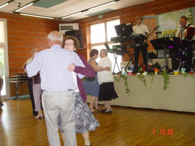 Le déjeuner des Anciens Jeunes à Beaumont-Pied-De-Boeuf, le 7 Juin 2014.