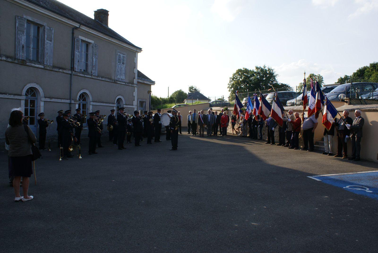 Cérémonie de l'appel du 18 Juin du Général Charles De Gaulle.