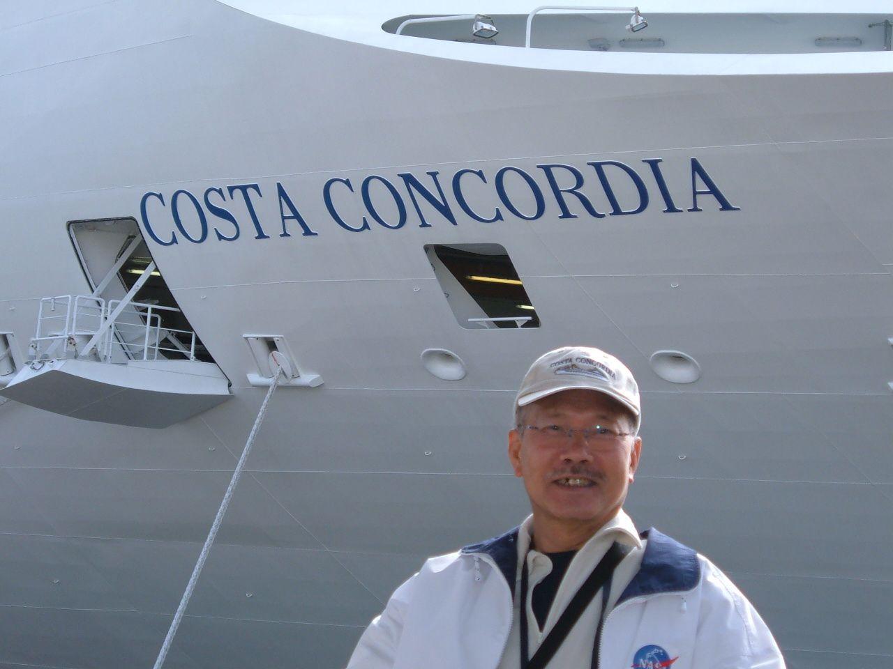 Le Costa Concordia au temps de sa splendeur...