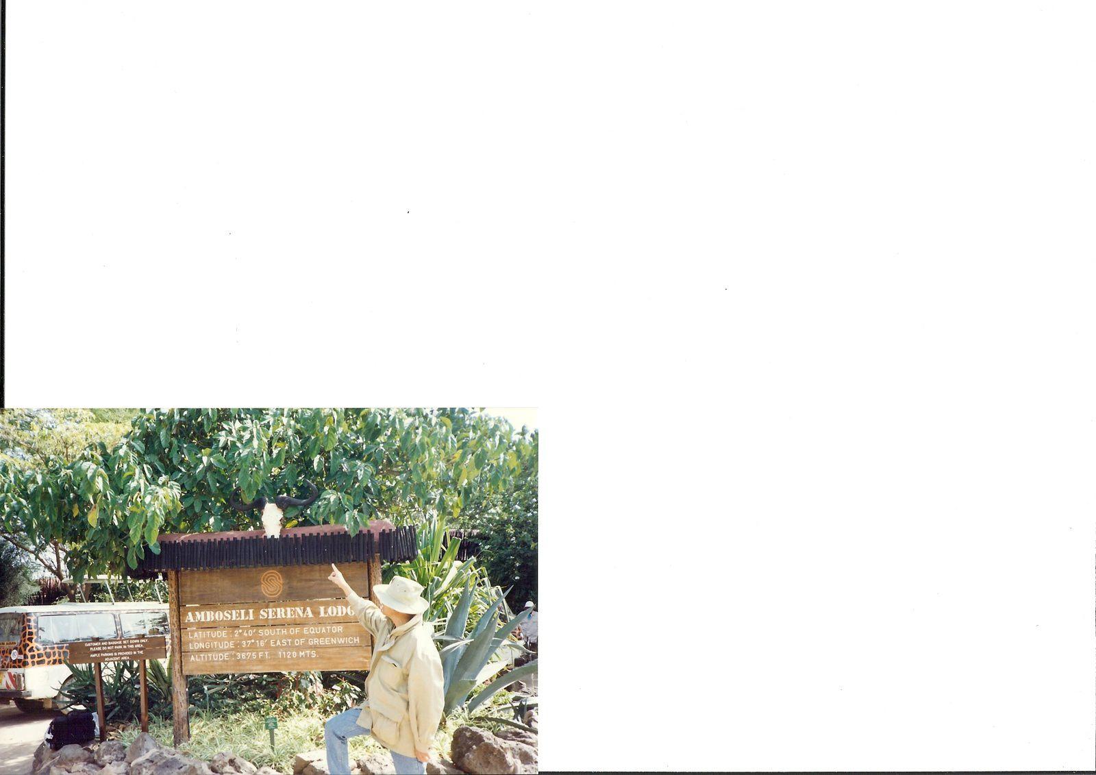 J'ai gagné un voyage au KENYA,en 1991.