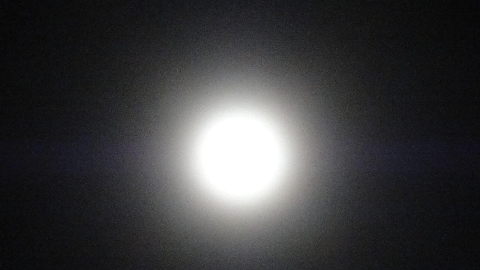 La lune photgraphiée le 25 Décembre 2015.