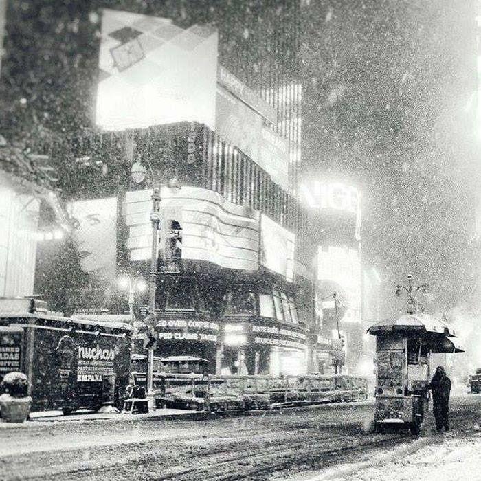 La tempête de neige à...NEW YORK .