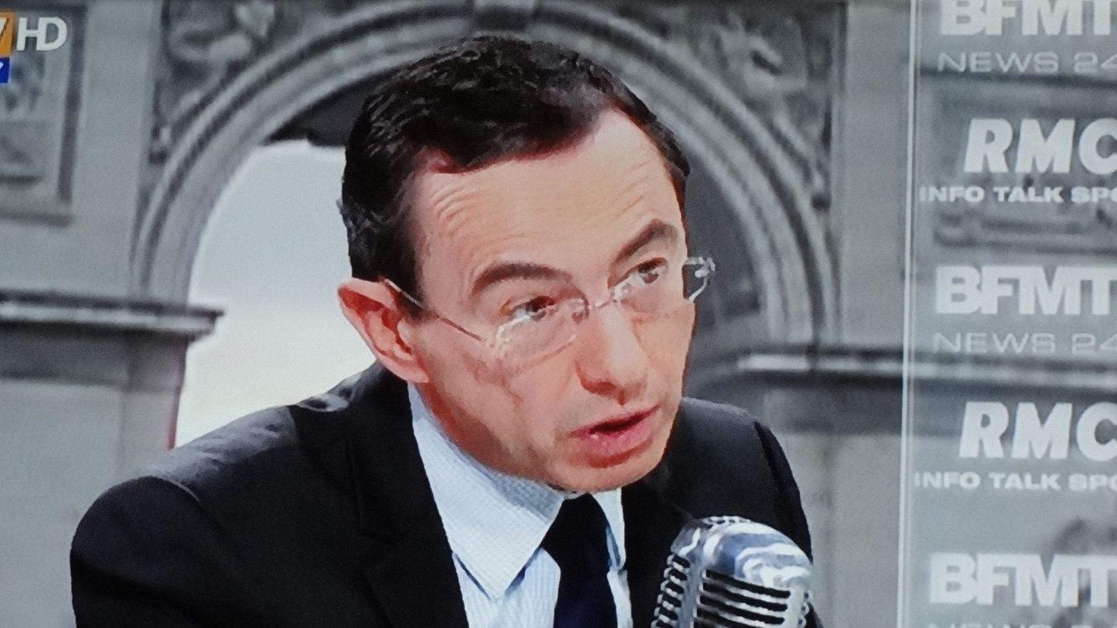 Le Sénateur Bruneau RETAILLEAU, invité par J.J BOURDIN ,e 11/02/2016 à B F M T V.