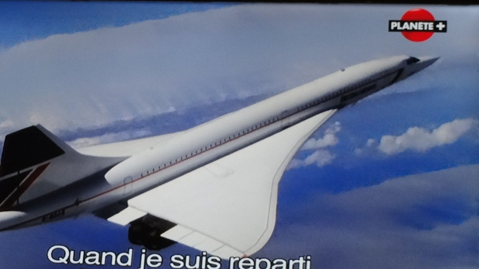 L'accident  de l'avion supersonique  le Concorde.