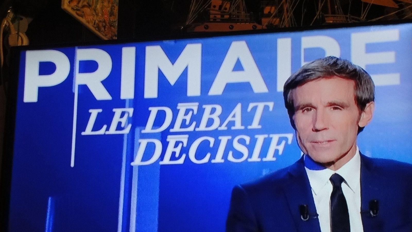 J'ai suivi le troisième débat.LA PRIMAIRE DROITE ET LE CENTRE.