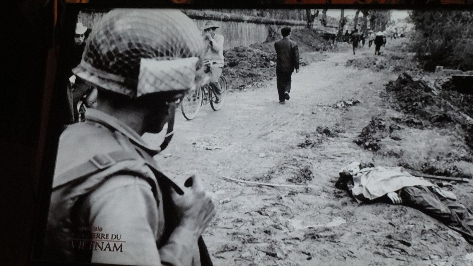 La guerre du VIET NAM.