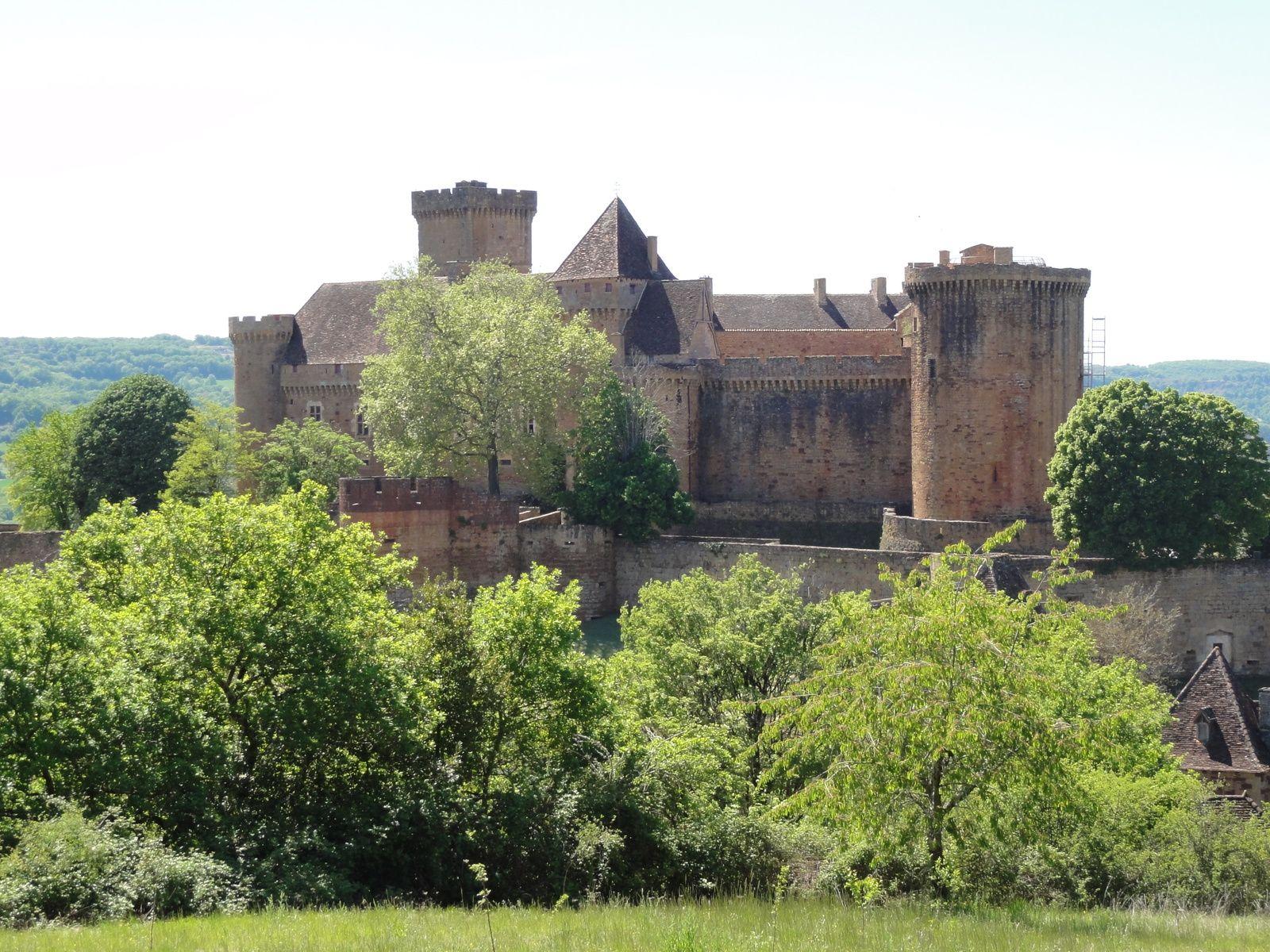 Séjour Bretenoux, 1er jour : les vignes de Glanes et le Château de Castelnau