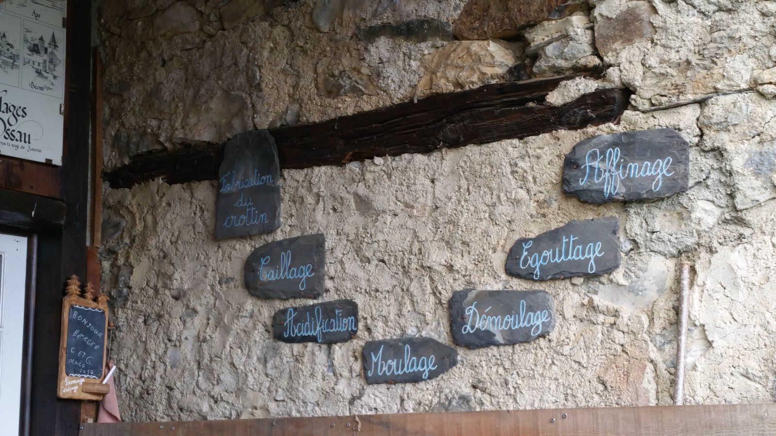 fromagerie d'Ossau en rase campagne,