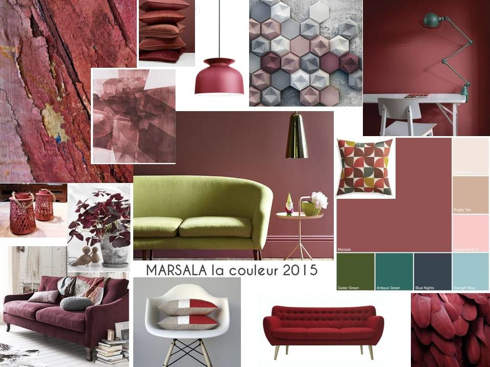 marsala couleur 2015. Black Bedroom Furniture Sets. Home Design Ideas
