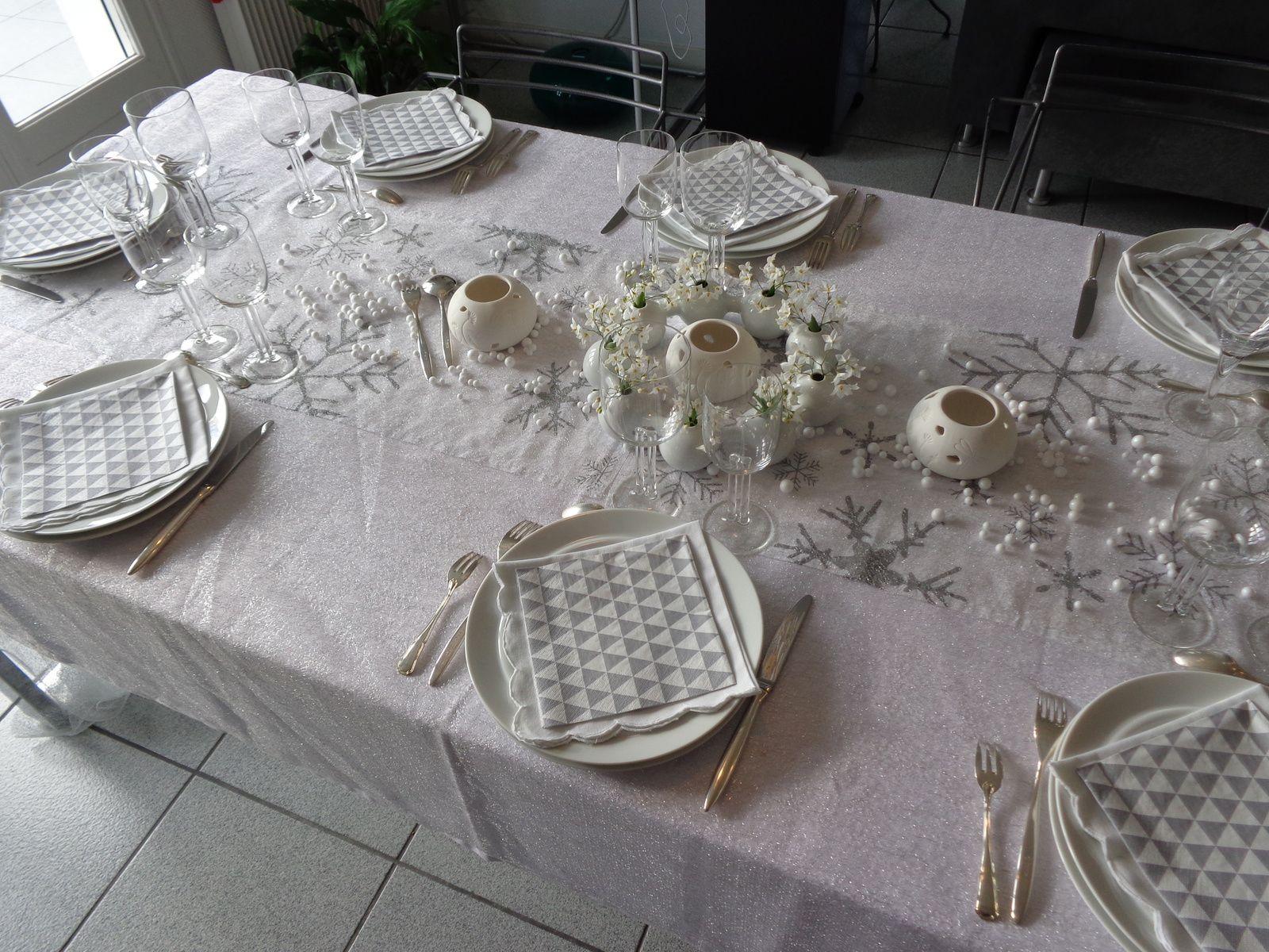 TABLE DE FÊTE POUR NÖEL
