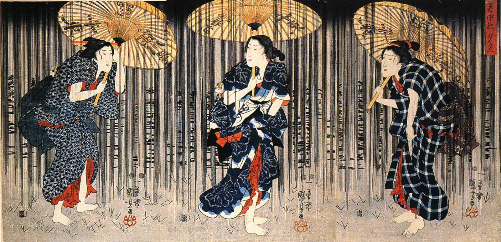 • Kuniyoshi, rebelle et fantasque