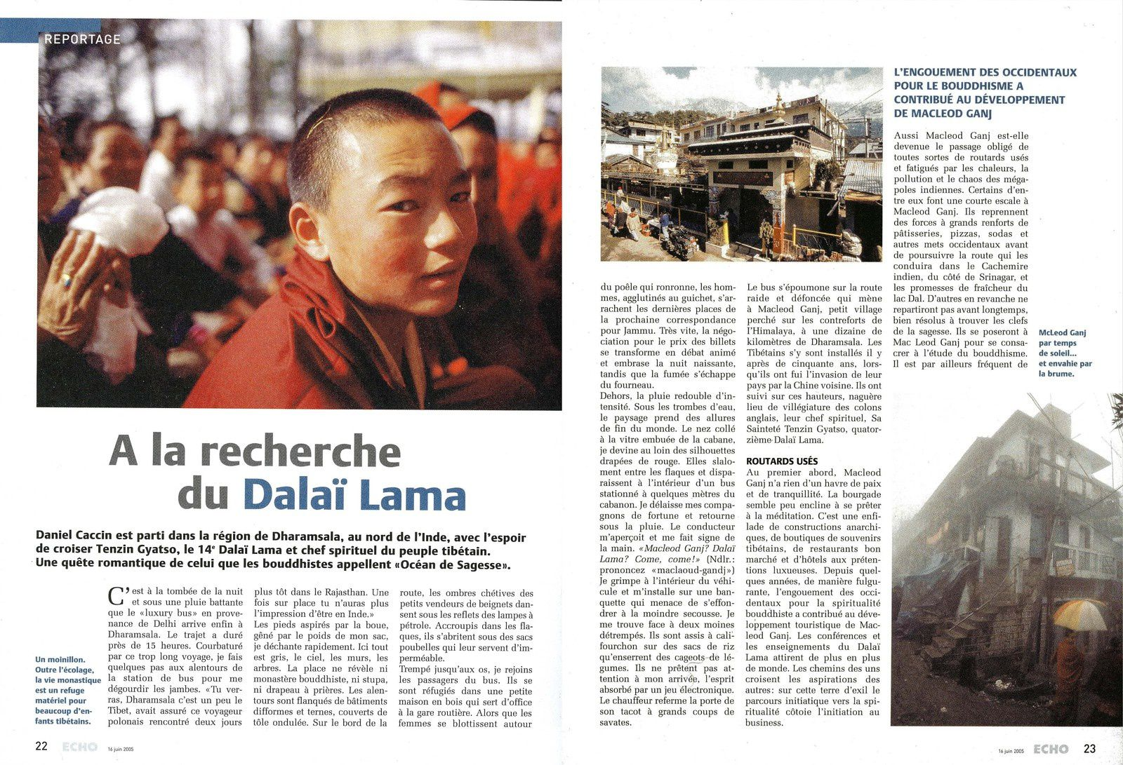 Inde - A la recherche du Dalaï Lama