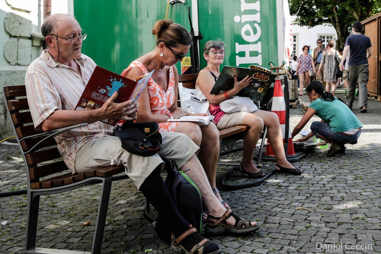 Delémont'BD - Rencontres Suisses & Internationales de BD du 2 au 5 juillet 2015