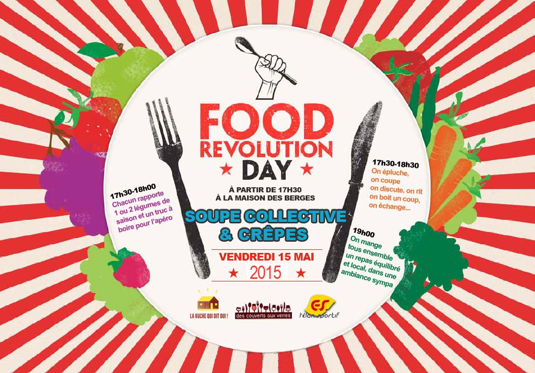 Vendredi 15 mai : Food Revolution Day !