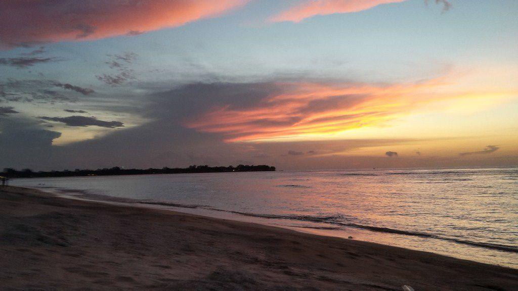 Plongée + coucher de soleil + anniv Etienne