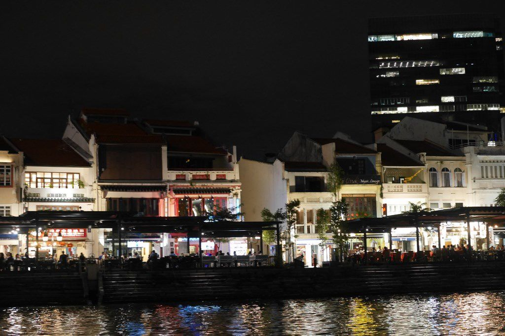 Singapour by night