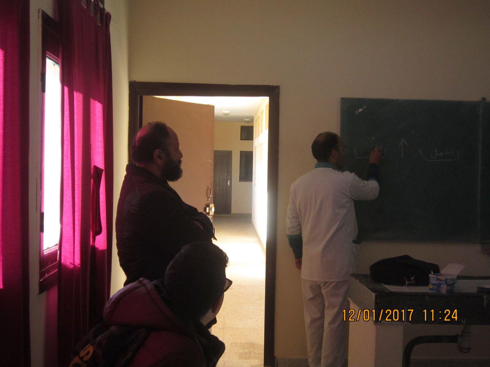 لقاء النادي البيئي مع أسرة الصحة و عرض الدكتورين خالد الوكيلي و معمول تحسيسا و توعية بأخطار مرض داء فقدان المناعة SIDA