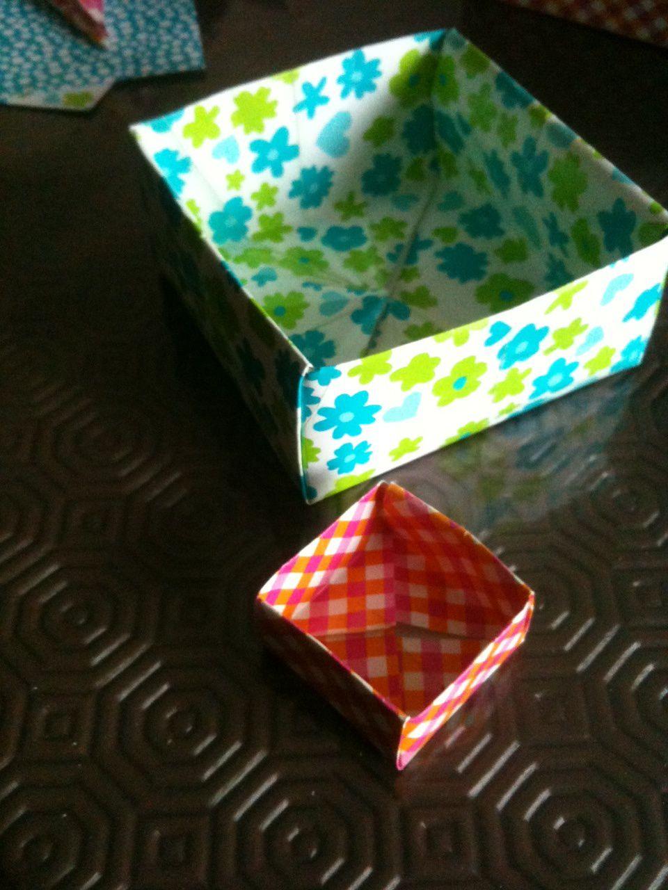 Origamis faciles pour les enfants