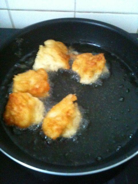 Croquettes vegan type falafel