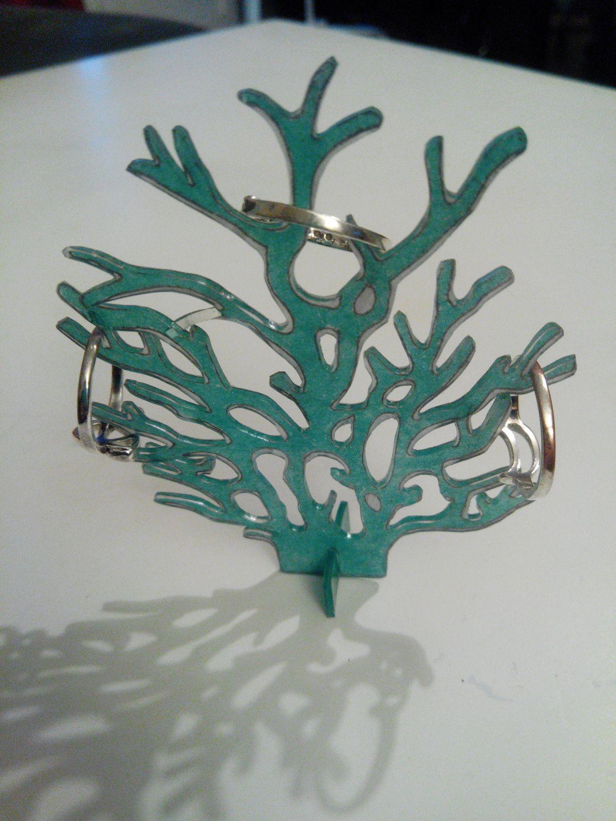 Petit arbre pour les bagues