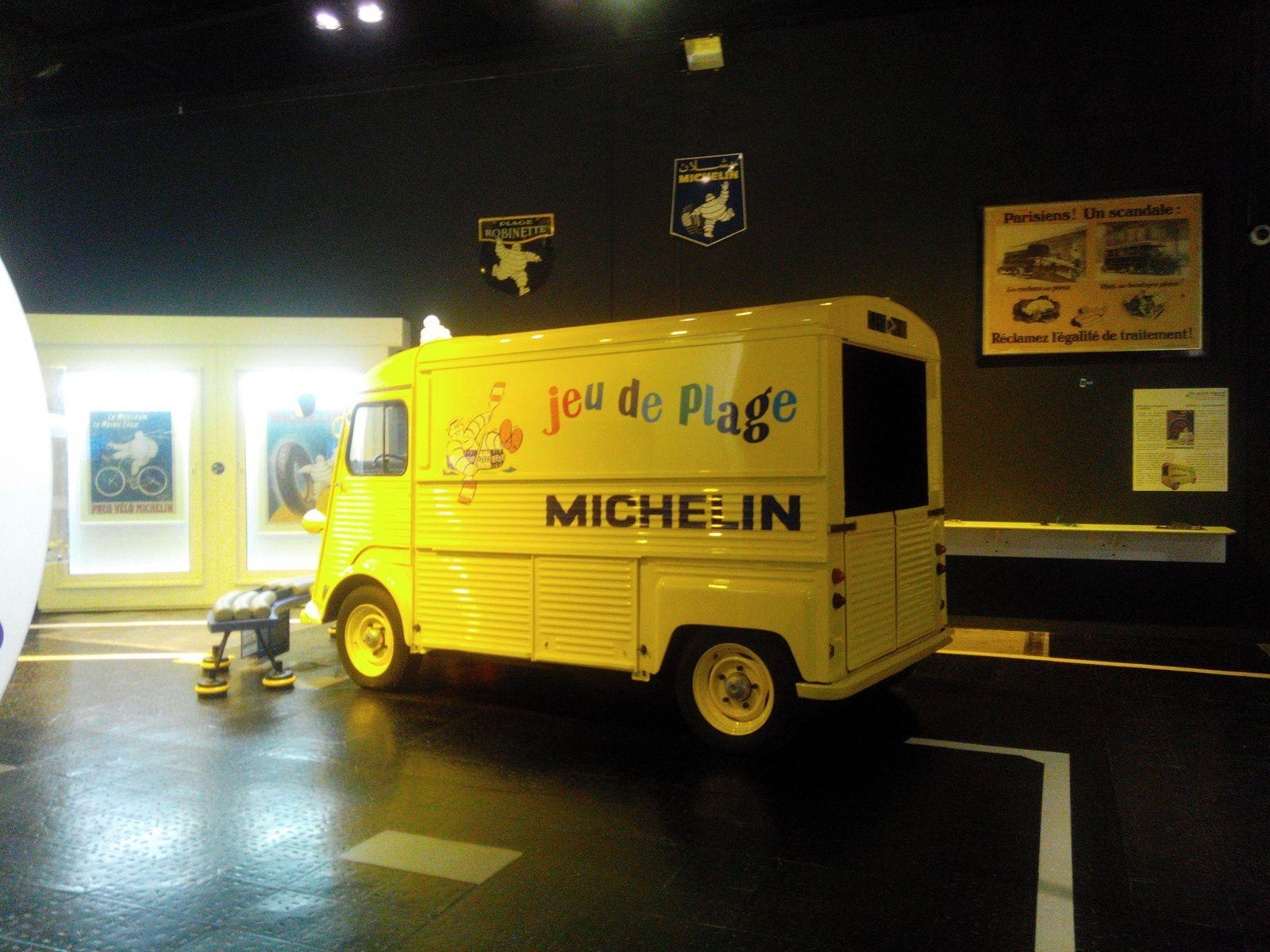 Visite du musée Michelin