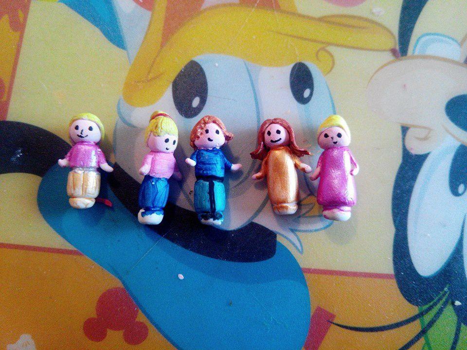 Des personnages Polly fait maison