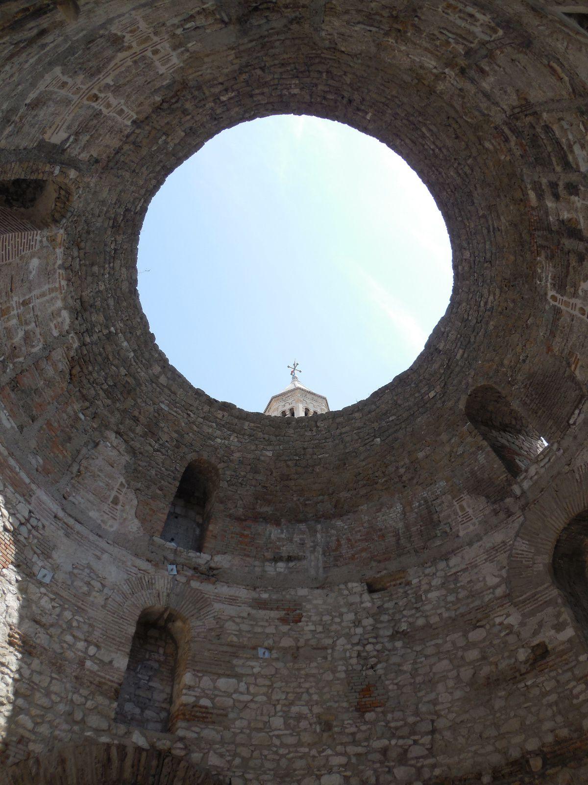 Split (Croatie) et le palais de Dioclétien