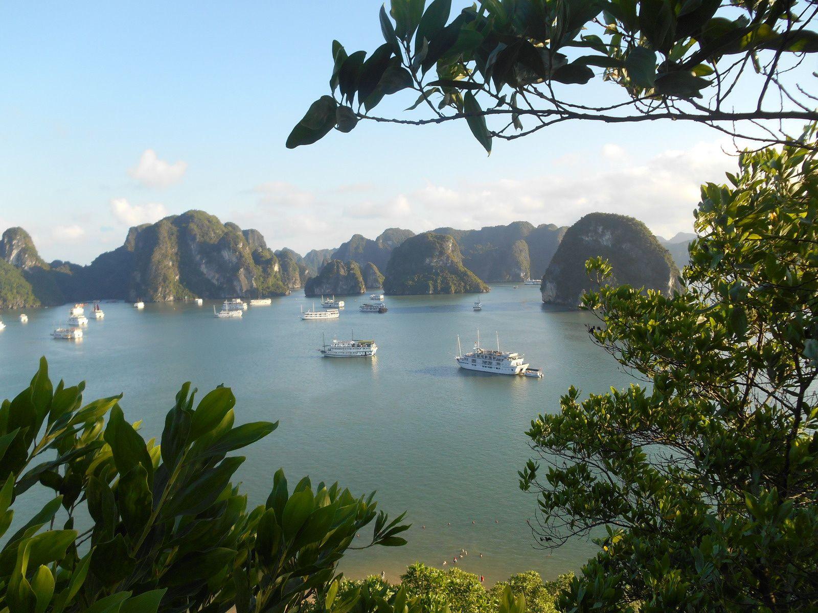 Viet Nam: 9ème jour - La baie d'Halong