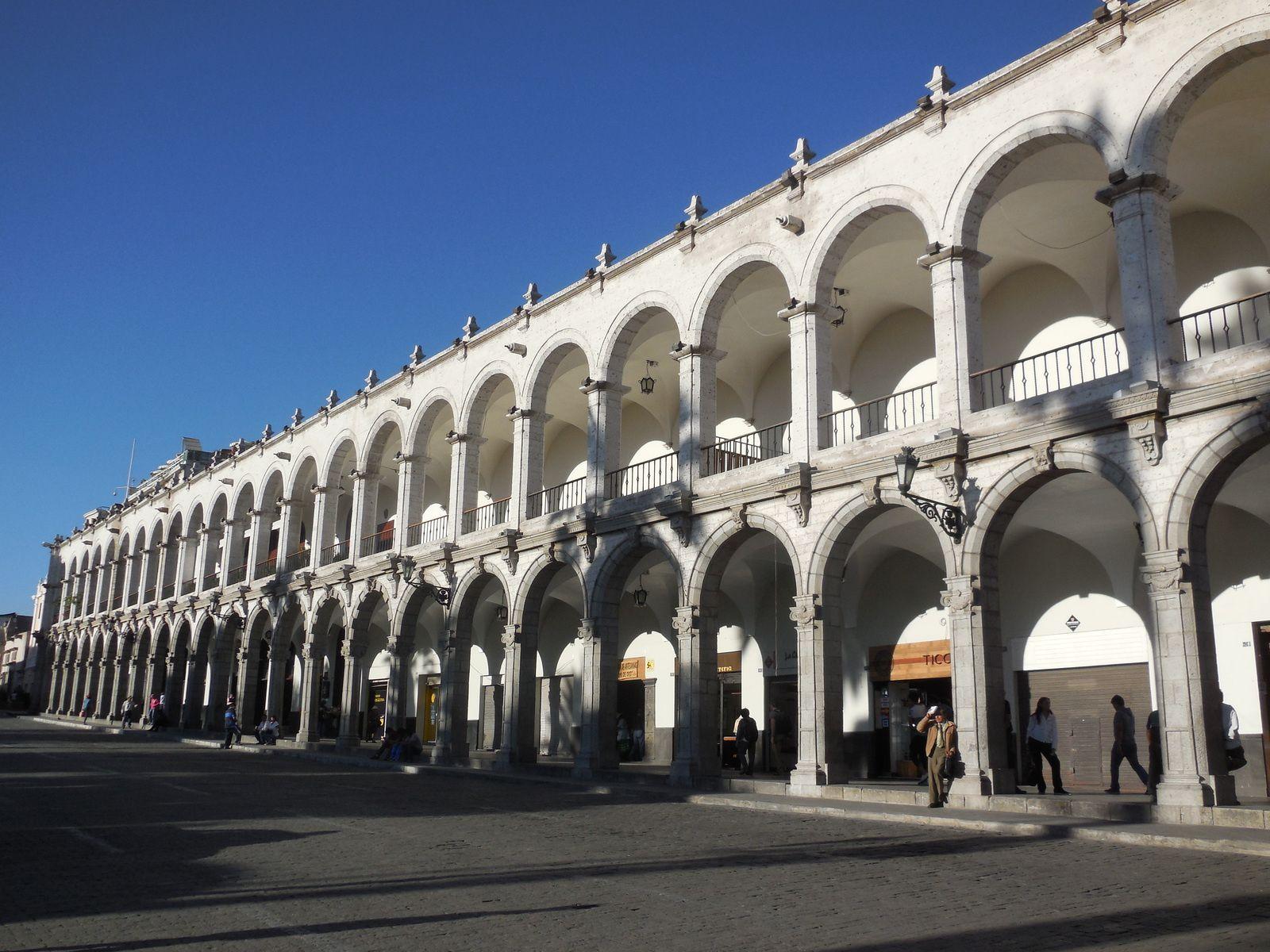 Jour 1 - Arequipa: visite de la ville