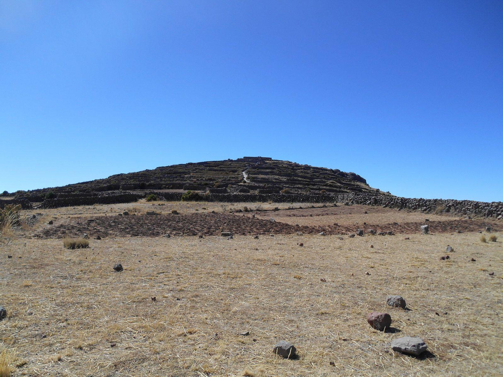 Le sommet Pachamama où nous allons...