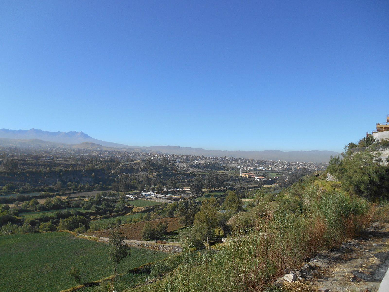 La vallée de la rivière Chili.