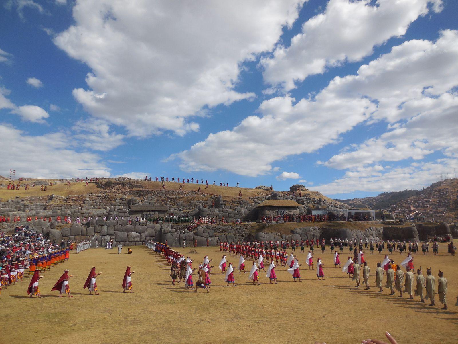 Jour 8: Cuzco - La fête de l'Inti Raymi -