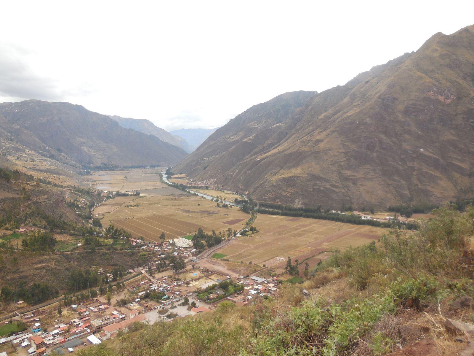 Derniére vue sur la vallée de Pisaq...