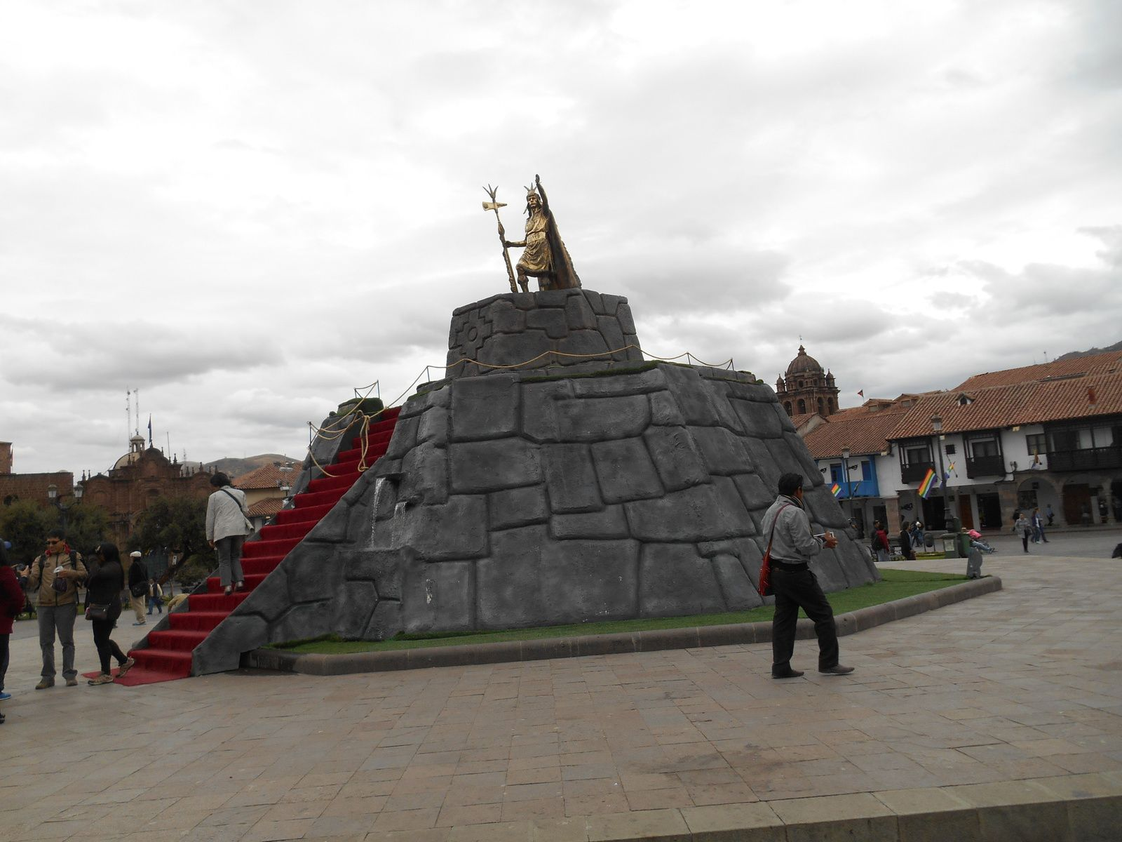 avant de rejoindre Cuzco et la Plaza de Armas...