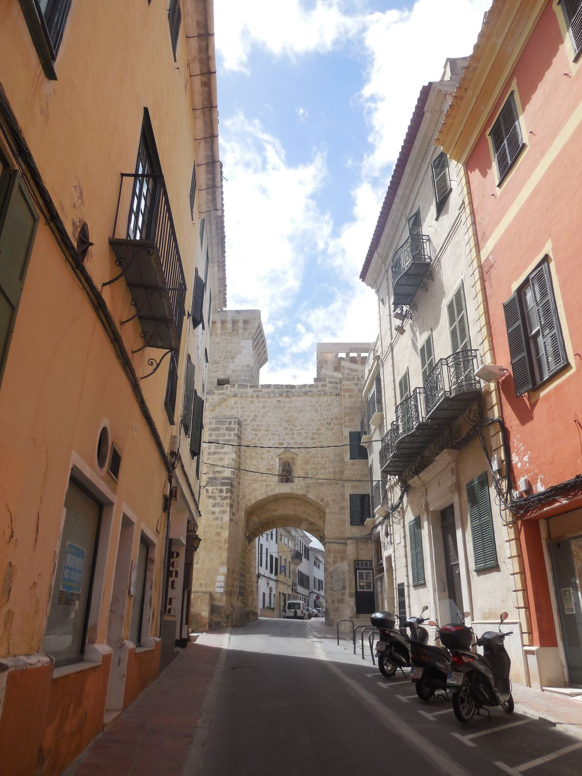Minorque: Mahon -capitale de l'île-