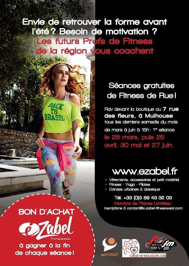 FITNESS DE RUE le 25 AVRIL
