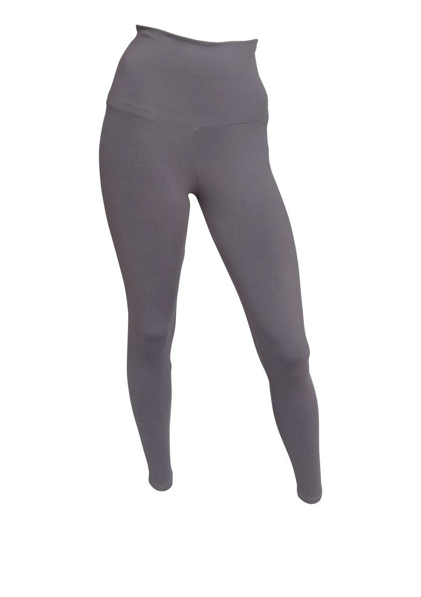 Leggings Basic Gris - Textile ayant une action sur la cellulite