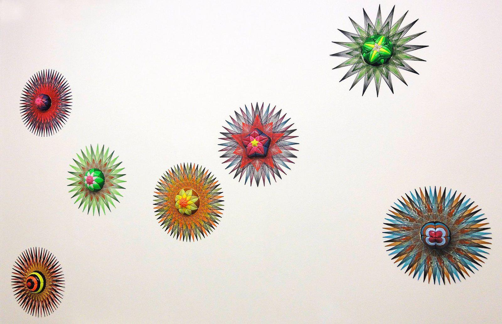 """Série """"Nucleus"""" (2015) - vue d'ensemble (Photo : Galerie Biesenbach)"""